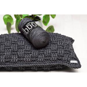 Basketweave Pillow 30x50cm Crochet Kit by Rito Krea
