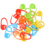 Infinity Hearts Stitch Markers Assorted Colors 22mm - 25 pcs