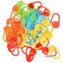 Infinity Hearts Stitch Markers Assorted Colors 22mm - 50 pcs
