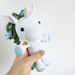 Elie Unicorn Boy by UnkelDesign - Teddy Crochet pattern 25cm
