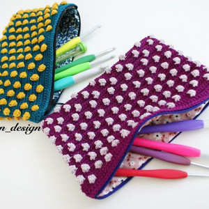 Bubble wrap by Aslan Design - Wallet Crochet pattern
