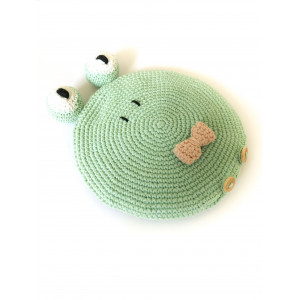 Frog Heating pad by Winthersdesign - Heating pad Crochet Pattern
