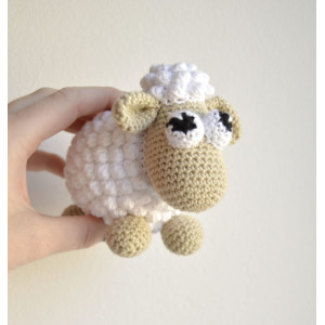 Easter sheep by KreaLoui - Sheep Crochet pattern 12cm