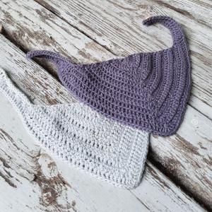 Drool Bib rib by ByGrarup - Drool bib Crochet pattern size 0/1.5 years