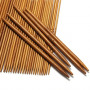 Infinity Hearts Bamboo Double Pointed Knitting Needle Set 13 cm 2-5 mm 11 pair of Needles