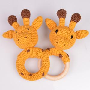 Giraffe Rattles by Rito Krea - Rattle Crochet Pattern 16cm