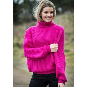 Mayflower Pink Sweater - Knitted Sweater Pattern Size S - XXL