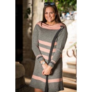 Mayflower Wrap Shirt - Knitted Jacket Pattern Size S - XXXL