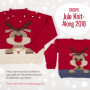 Children Christmas Jumper KAL 2018 by DROPS Design Alaska Size 2 - 12 years