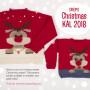Christmas Jumper KAL 2018 by DROPS Design Nepal Size S - XXXL