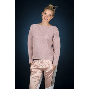 Mayflower Pink Raglan Jumper - Jumper Pattern Size S - XXXL