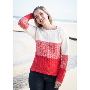 e7fa90f04 Mayflower Blockstriped Sweater - Sweater Knitting Pattern Size.