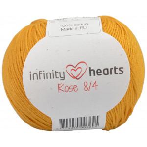 Infinity Hearts Rose 8/4 Yarn Unicolor 190 Mustard