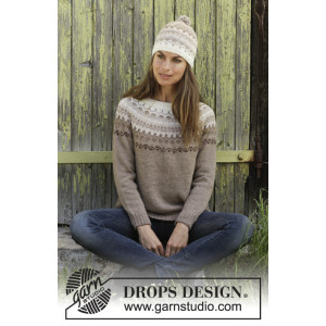 Talvik by DROPS Design - Knitted Jumper Pattern Sizes S - XXXL