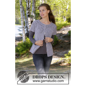 Agnes Cardi by DROPS Design - Knitted Vest Pattern Sizes S - XXXL
