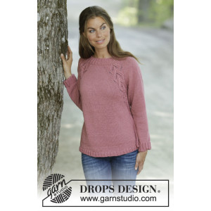 Sienna by DROPS Design - Knitted Jumper Pattern Sizes S - XXXL