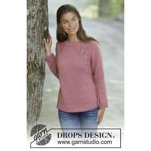 Siennaby DROPS Design - Knitted Jumper Pattern Sizes S - XXXL