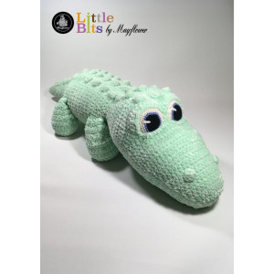 Mayflower Little Bits Klaus the Crocodile - Crochet Teddy Pattern