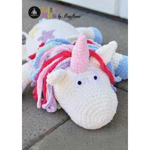Mayflower Little Bits Ella the Unicorn - Crochet Teddy Pattern