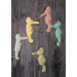 Mayflower Little Bits Sille the Seahorse - Crochet Teddy Pattern