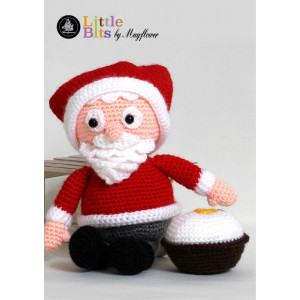Mayflower Little Bits Julle the Santa - Crochet Santa Pattern