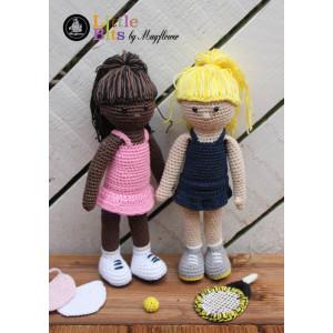 Mayflower Little Bits Tennis Girls - Crochet Doll Pattern