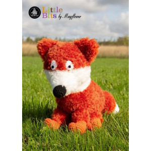 Mayflower Little Bits Rolf the Fox - Crochet Teddy Pattern