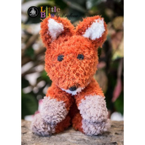 Mayflower Little Bits Robert the Fox - Crochet Teddy Pattern