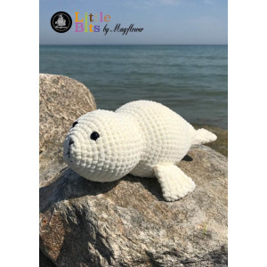 Mayflower Little Bits Luffe the Baby Seal - Crochet Teddy Pattern