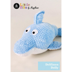 Mayflower Little Bits Dolly the Dolphin - Crochet Teddy Pattern