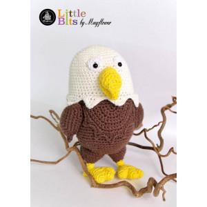 Mayflower Little Bits Heino the White-tailed Eagle - Crochet Teddy Pattern