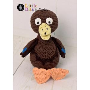Mayflower Little Bits Alberte the Mallard - Crochet Teddy Pattern