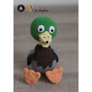 Mayflower Little Bits Albert the Duck - Crochet Teddy Pattern