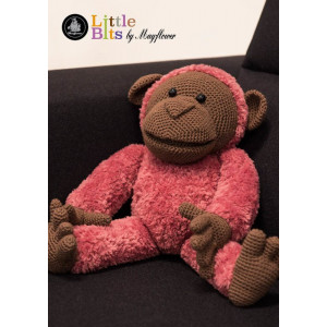 Mayflower Little Bits Alfred the Monkey - Crochet Teddy Pattern