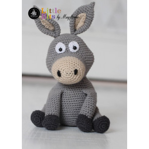 Mayflower Little Bits Donkey the Donkey - Crochet Teddy Pattern