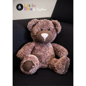 Mayflower Little Bits Buller the Bear - Crochet Teddy Pattern