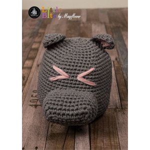 Mayflower Little Bits Hippo Doorstop - Crochet Doorstop Pattern