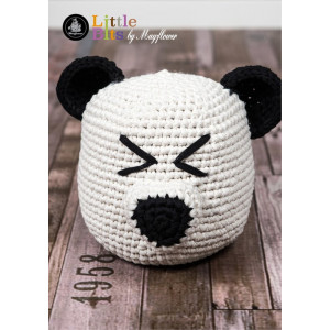 Mayflower Little Bits Panda Doorstop - Crochet Doorstop Pattern