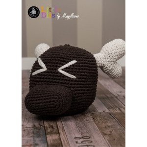 Mayflower Little Bits Moose Doorstop - Crochet Doorstop Pattern