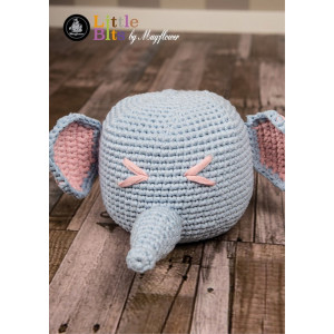 Mayflower Little Bits Elephant Doorstop - Crochet Doorstop Pattern