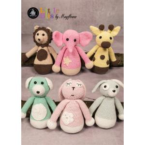 b35bf6c999e Mayflower Little Bits The Family Slaskebamse - Crochet Teddy Pattern
