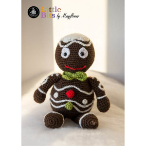 Mayflower Little Bits Henning the Gingerbread Man - Crochet Gingerbread Man Pattern