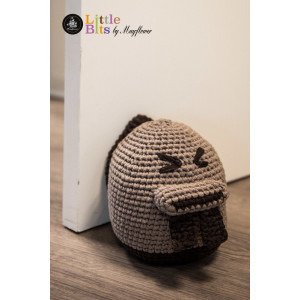 Mayflower Little Bits Beaver Doorstop - Crochet Doorstop Pattern