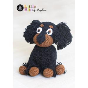 Mayflower Little Bits Dingo the Dog - Crochet Teddy Pattern