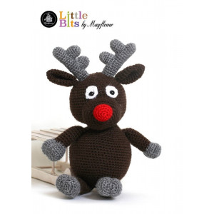 Mayflower Little Bits Rudolf the Reindeer - Crochet Reindeer Pattern