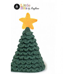 Mayflower Little Bits Christmas Tree - Crochet Christmas Tree Pattern