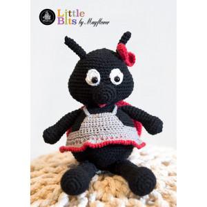 Mayflower Little Bits Hilda the Ladybug - Crochet Teddy Pattern
