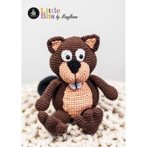 Mayflower Little Bits Benny the Beaver - Crochet Teddy Pattern