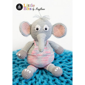 Mayflower Little Bits Elton the Elephant - Crochet Teddy Pattern