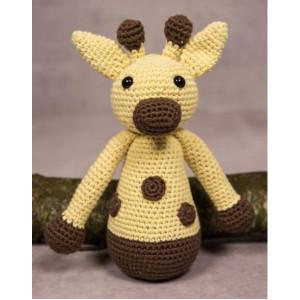 Mayflower Little Bits Gert the Giraffe - Crochet Teddy Pattern